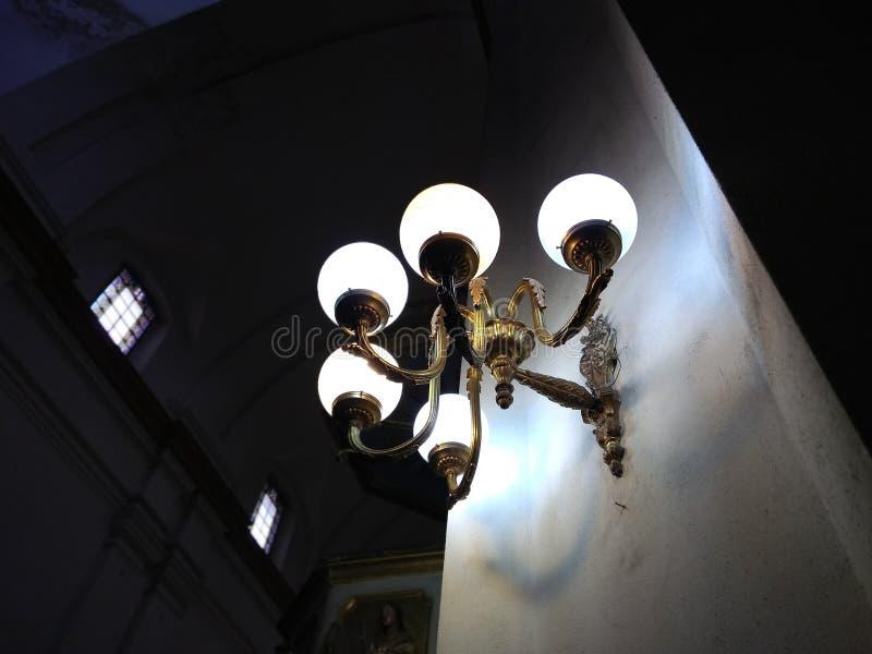 教会光 宗教天主教徒 库存照片