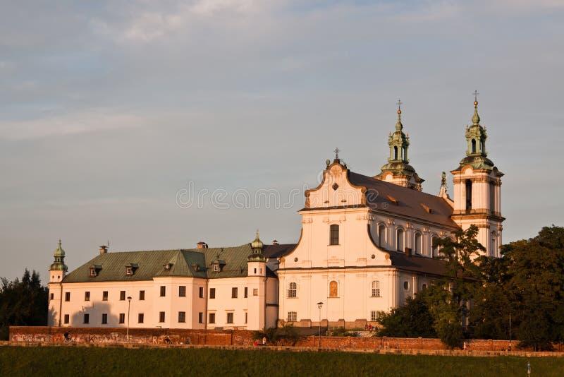 教会克拉科夫s st stanislaw 免版税图库摄影