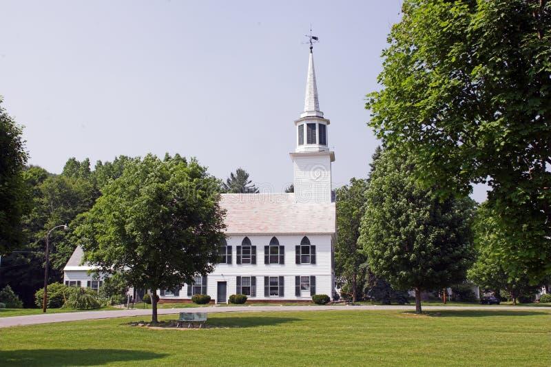 教会公园 免版税图库摄影