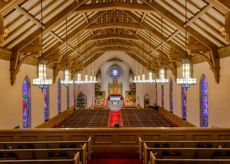 教会卫理公会派教徒团结 图库摄影
