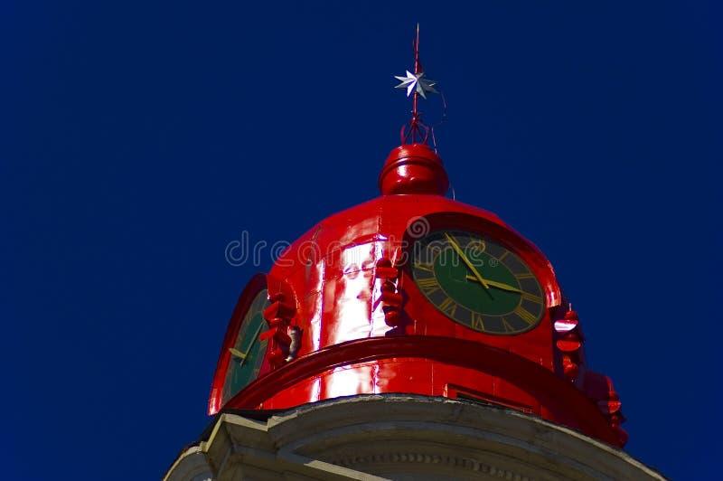 教会历史屋顶 免版税图库摄影