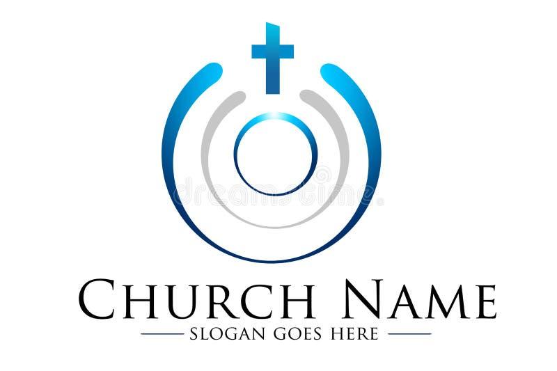 教会商标 皇族释放例证