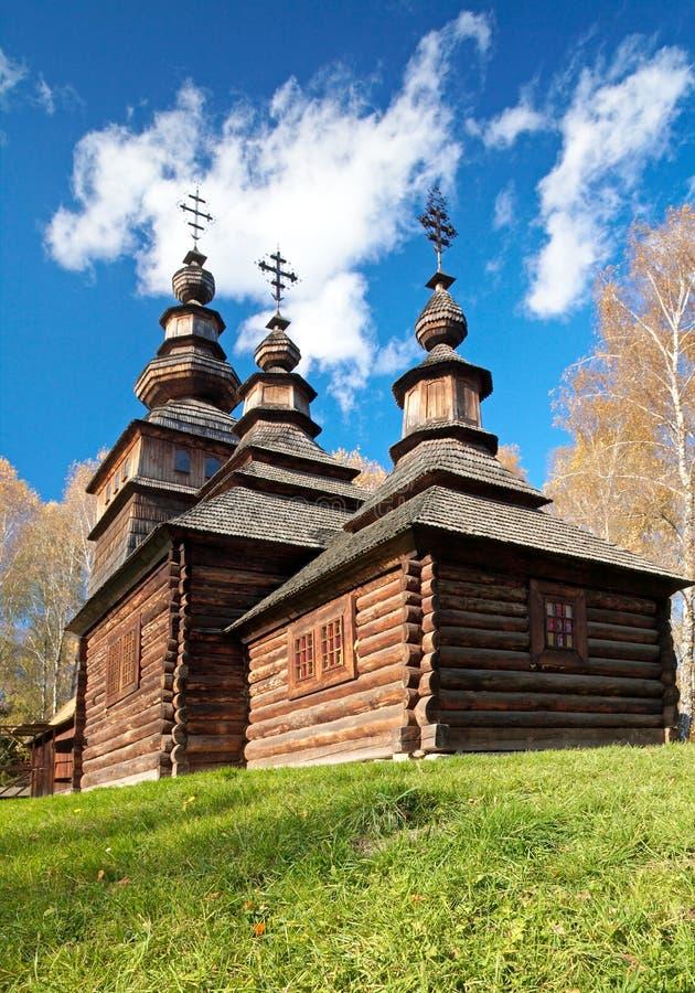 教会国家(地区)历史乌克兰木头 库存照片