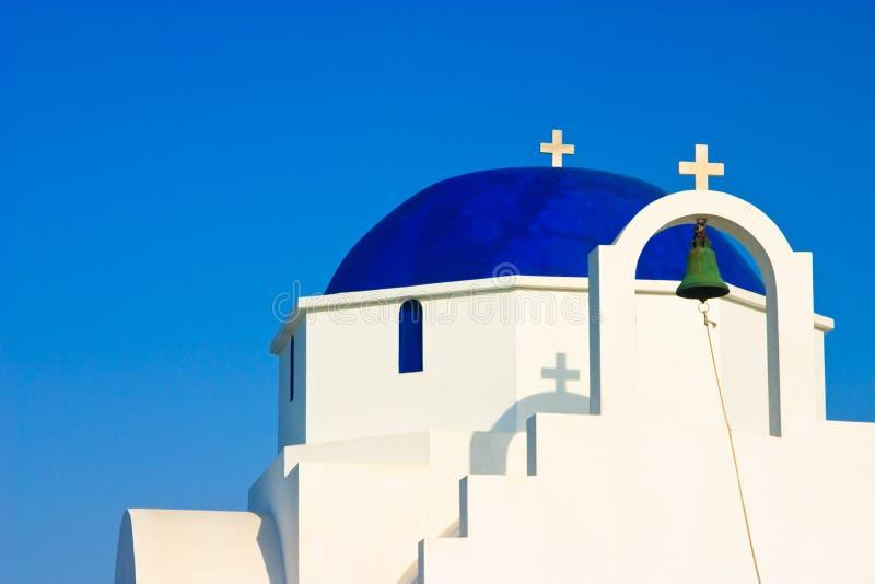 教会圆顶希腊 库存图片