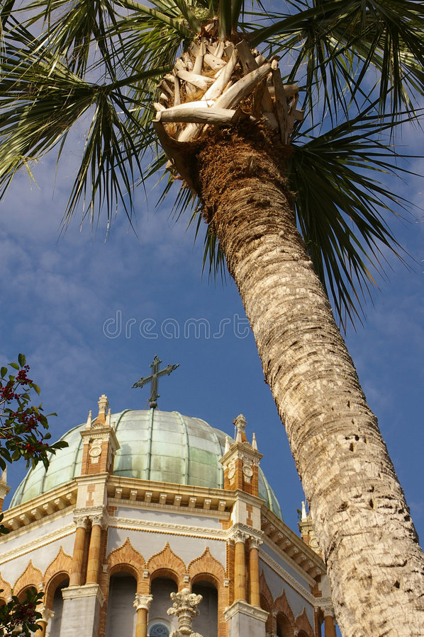 教会圆顶 免版税库存图片