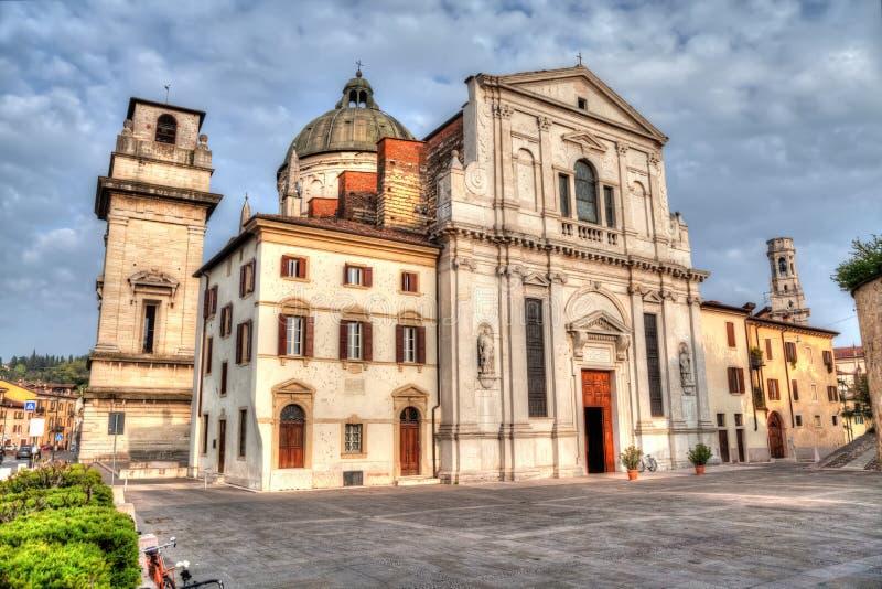 教会圣乔治在Braida,维罗纳 库存图片