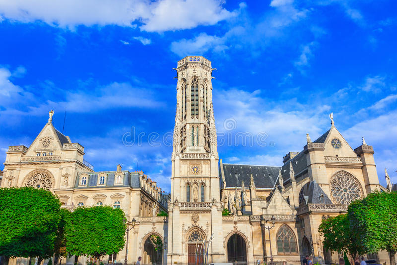 教会圣徒热尔曼l'Auxerrois 免版税图库摄影