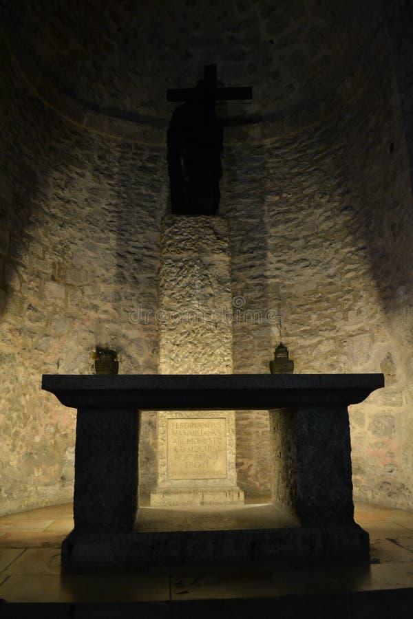 教会圣洁坟墓 免版税库存照片