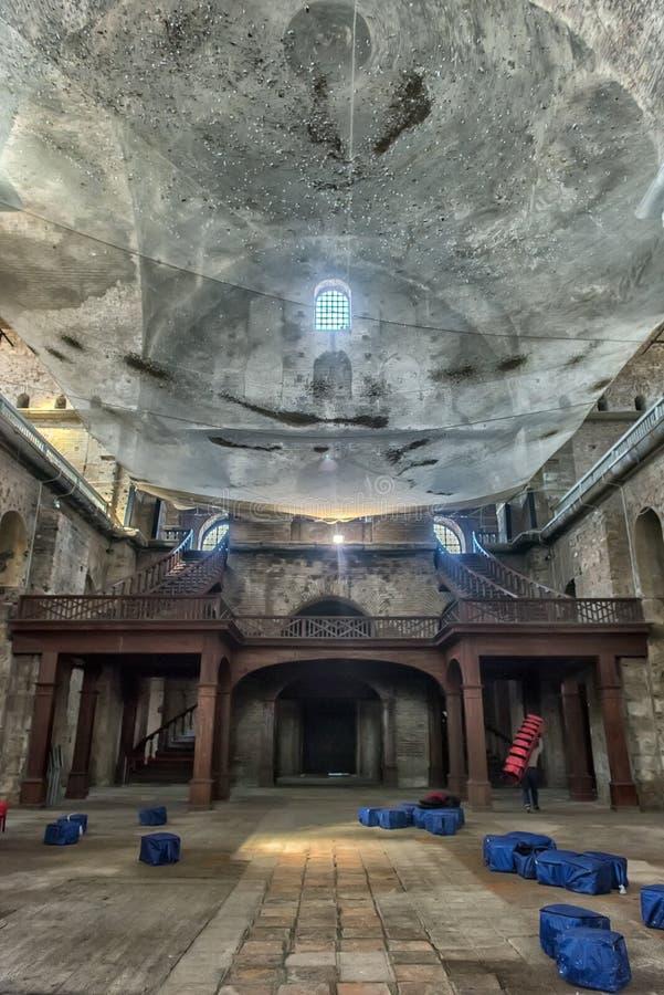 教会圣艾琳-其中一个最早期的生存教会 免版税库存照片