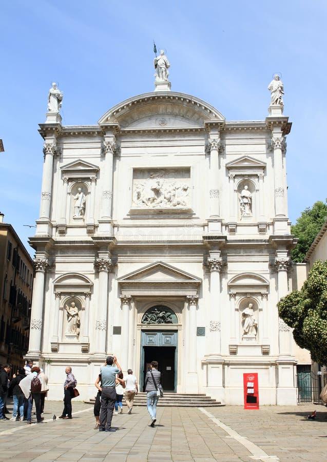 教会圣Rocco在威尼斯 图库摄影