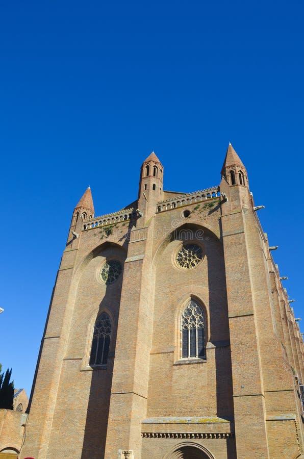 教会在图卢兹,法国 图库摄影