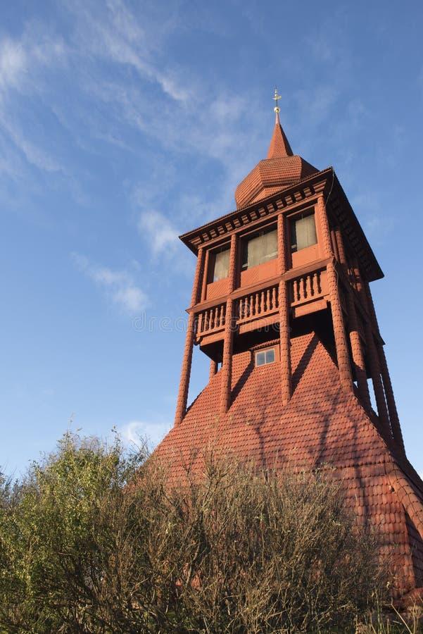 教会在基律纳 免版税库存图片