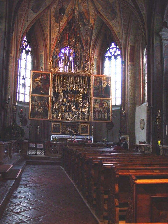 教会在奥地利 免版税库存图片