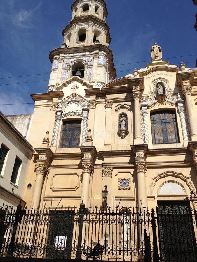 教会在布宜诺斯艾利斯 库存图片