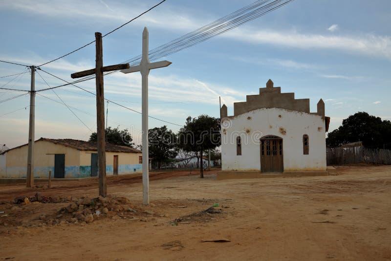 教会在彼得罗利纳在巴西 免版税库存图片