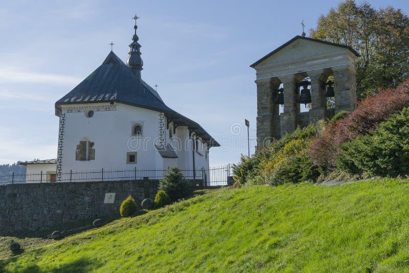 教会在波兰 免版税库存照片