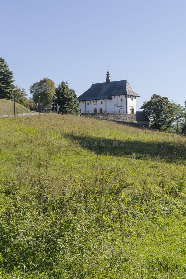 教会在波兰 免版税图库摄影