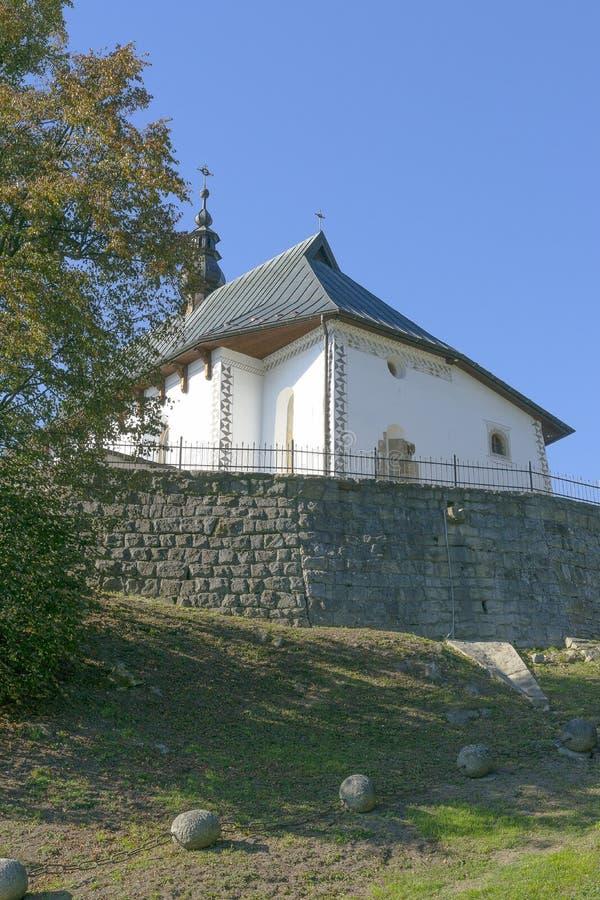 教会在波兰 图库摄影