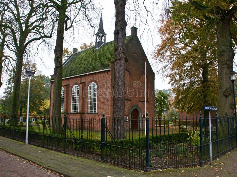 教会在津德尔特 免版税库存图片
