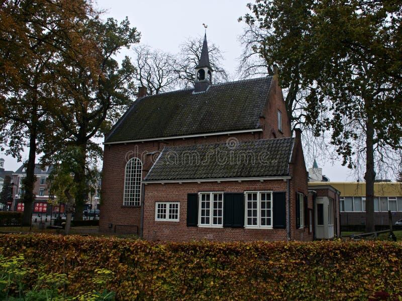 教会在津德尔特 图库摄影