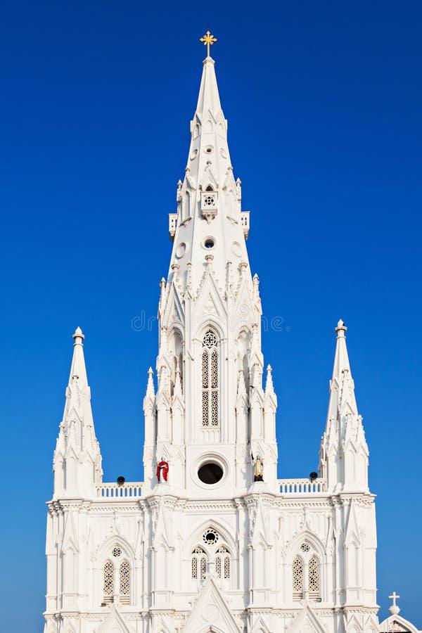 教会在科摩林角 库存图片