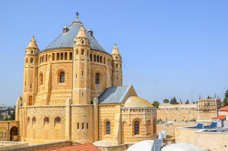教会在耶路撒冷,以色列 库存照片
