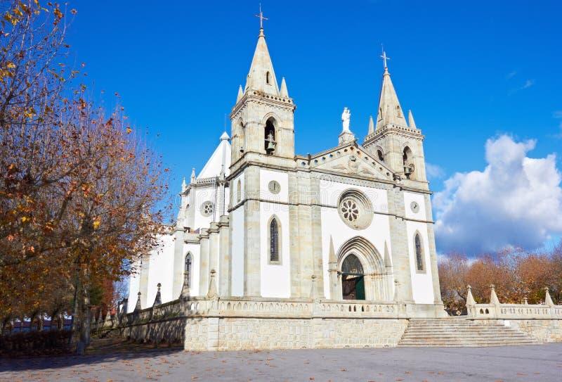教会在葡萄牙 免版税库存图片