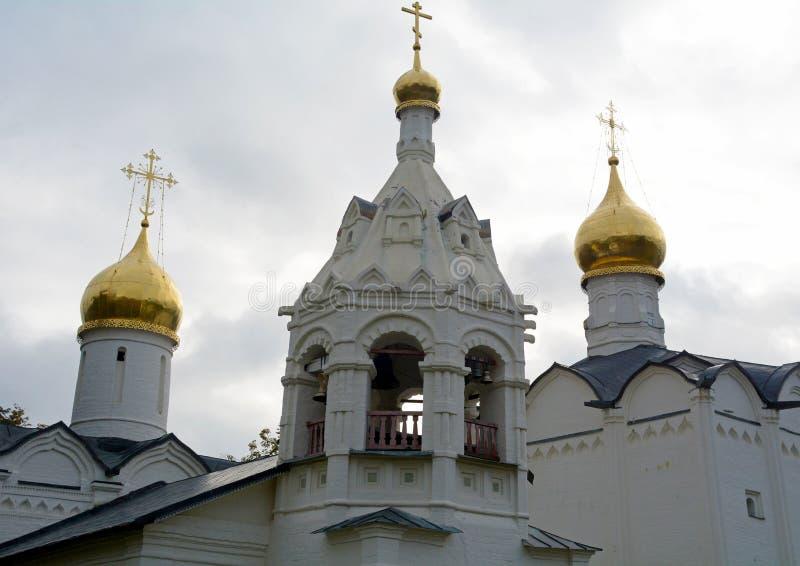 教会在Sergiev Posad 免版税库存图片