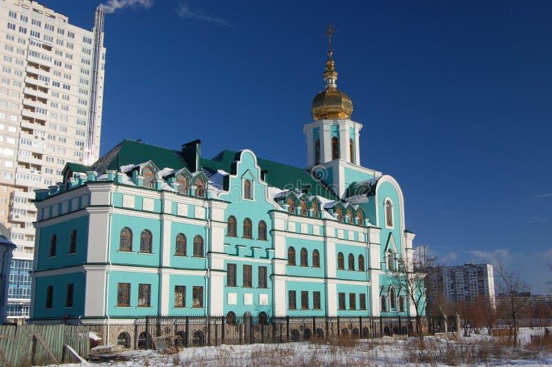 教会基辅老乌克兰 库存图片