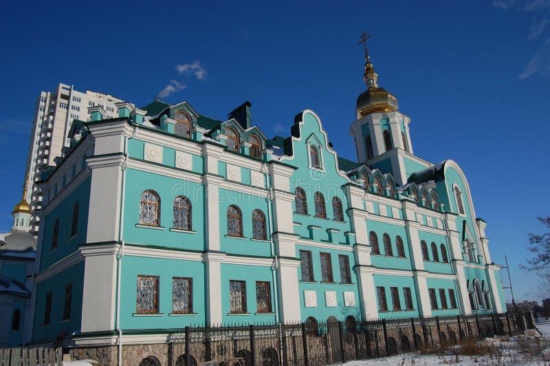 教会基辅老乌克兰 图库摄影