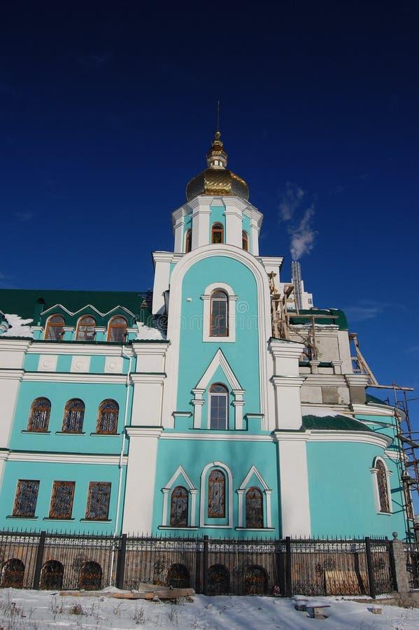 教会基辅老乌克兰 库存照片