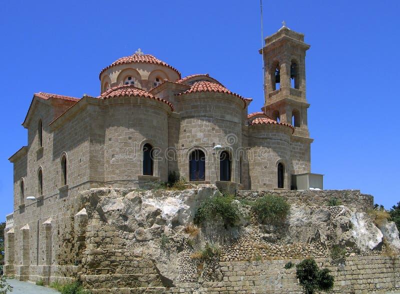 教会塞浦路斯的希腊 免版税库存照片