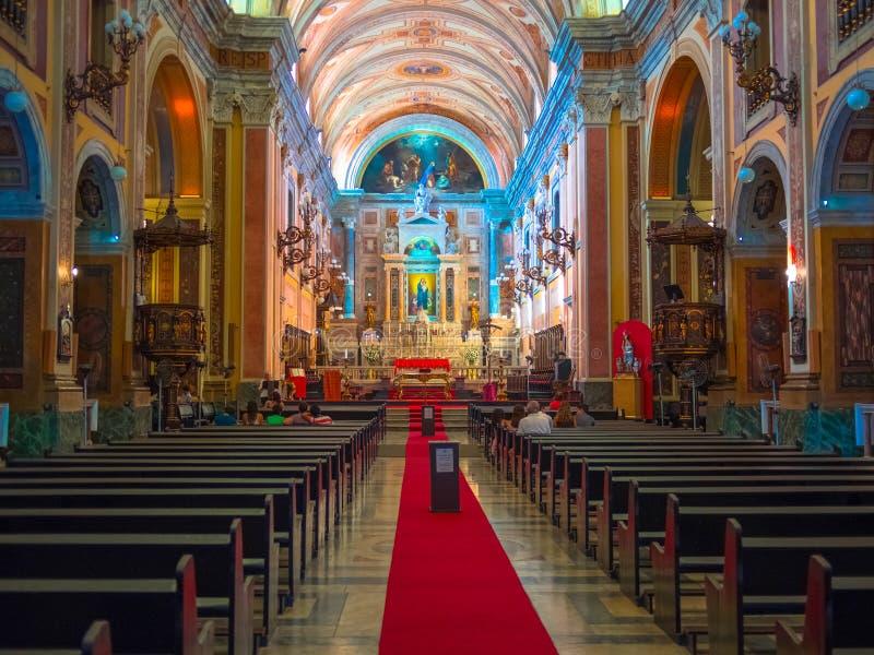 教会大教堂 免版税库存图片