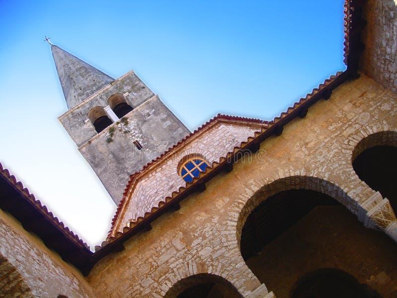 教会天空往 免版税图库摄影