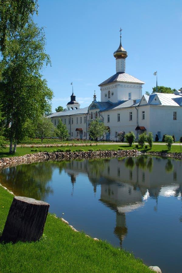 教会女修道院尼古拉斯圣徒tolga 免版税图库摄影