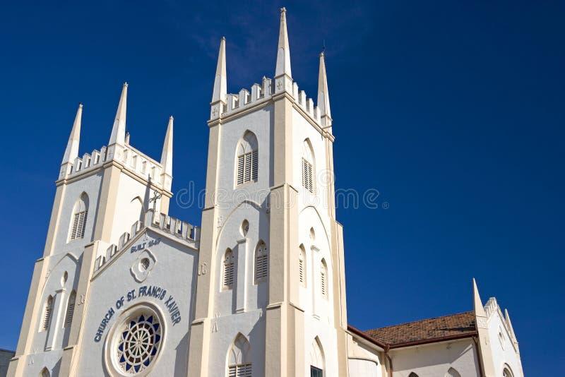 教会弗朗西斯・马六甲s st xavier 图库摄影