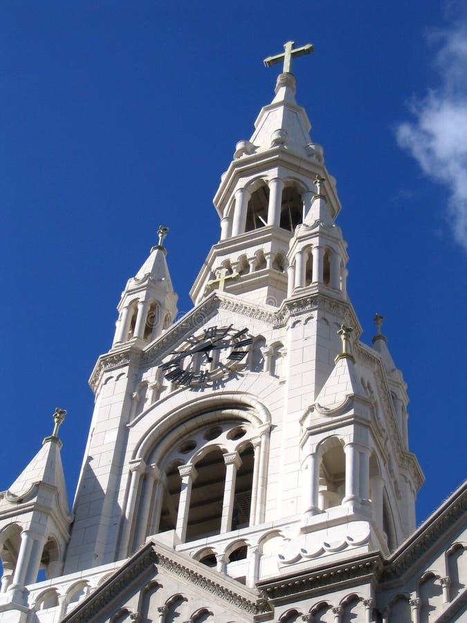 教会弗朗西斯科・圣 库存照片