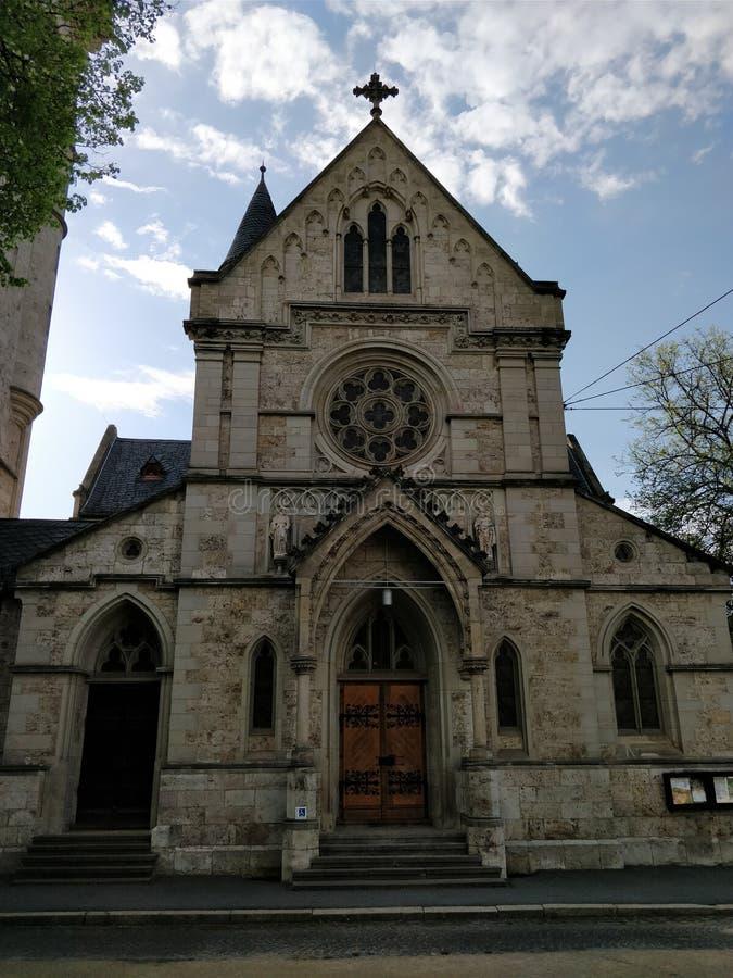 教会德国威玛 图库摄影