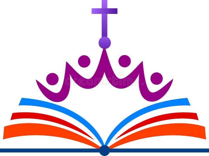 教会徽标 皇族释放例证