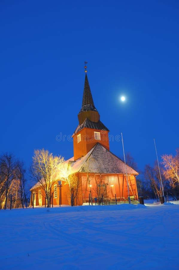 教会挪威 图库摄影