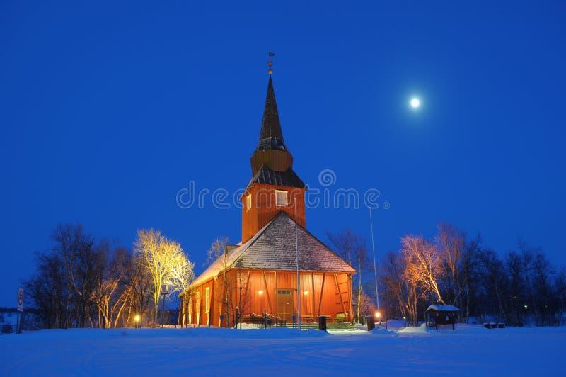 教会挪威 库存照片