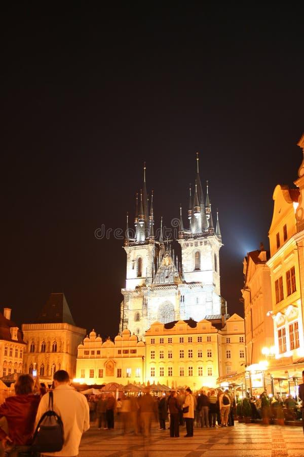 教会捷克夫人我们的布拉格共和国tyn 图库摄影