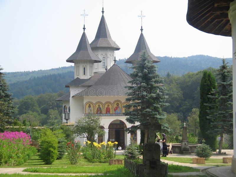 教会摩尔达维亚 免版税库存图片
