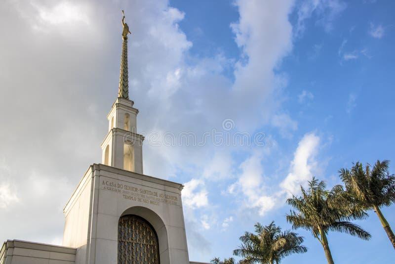教会摩门教徒 库存照片
