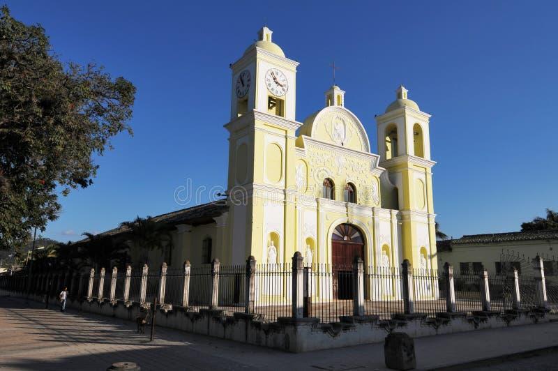 教会教区城市的gracias 免版税图库摄影