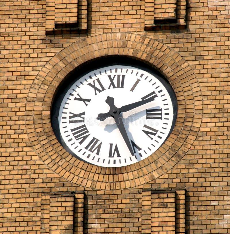 教会时钟 图库摄影