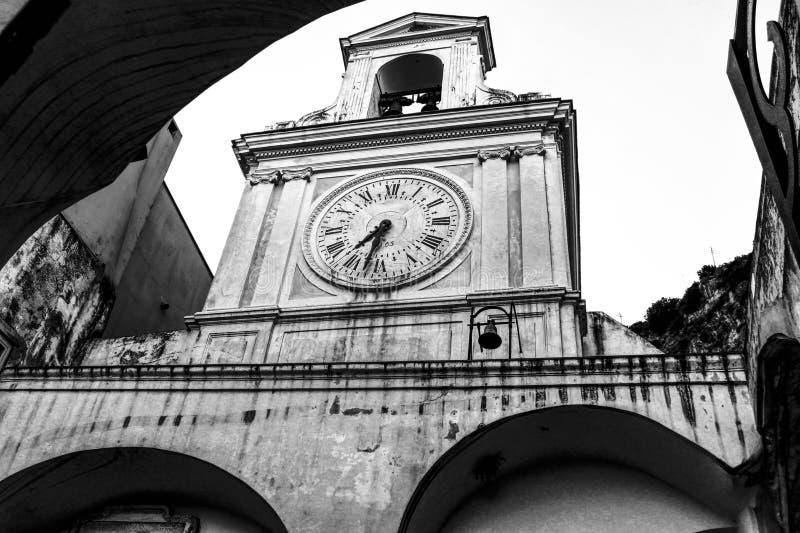 教会时钟 库存照片