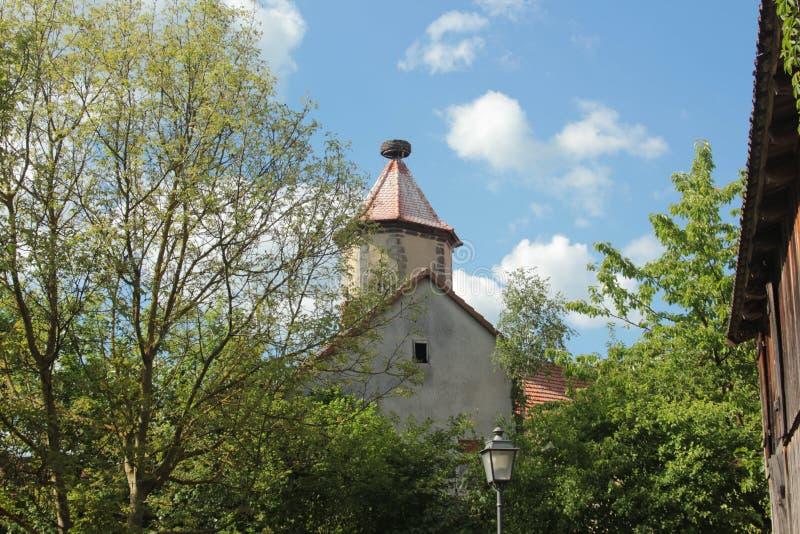 教会是基督徒聚集的大厦 库存图片