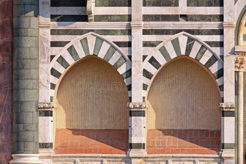 教会曲拱佛罗伦萨 库存图片