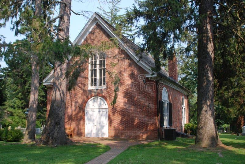 教会有历史的md保罗点s含沙st 免版税库存图片